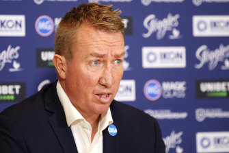 Trent Robinson's choice of inspiration goes some way to explaining the coach's continued success with the Roosters.