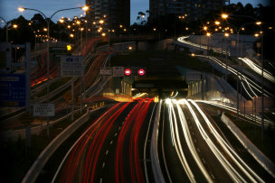 Transurban, which operates the Lane Cove Tunnel, says it's open to working with the government on tolling reform.