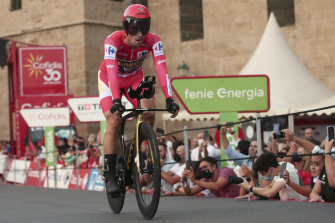 Jumbo-Visma's Primoz Roglic seals the Vuelta during the final time trial.