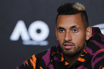Kyrgios was involved in a war of words with Olympic chef de mission Kitty Chiller in the lead-up to the Rio 2016 Games.