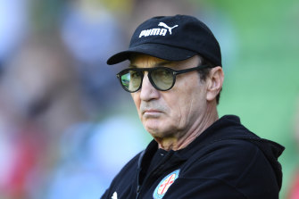 Melbourne City coach Erick Mombaerts has quit to return to France for family reasons.