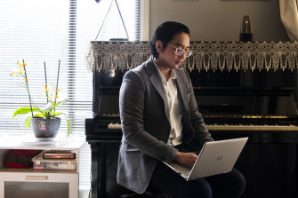 Ericsson Fung, an ex-piano teacher who has always had a passion for IT.