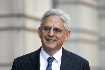 US Attorney General Merrick Garland.