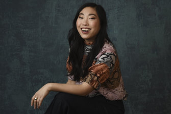 Awkwafina, born Nora Lum, is the star of new series Awkwafina Is Nora from Queens.
