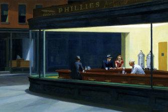 Edward Hopper's Nighthawks, 1942.