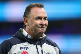 The Raiders were prepared to play a long game and backed coach Ricky Stuart during an early lean spell.