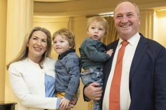 'Australian politics is once again colourful': Readers respond to Barnaby's return