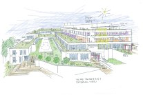 An artist's impression of Lindfield Learning Village