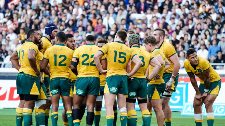 United: The Wallabies face Wales this weekend in Cardiff.