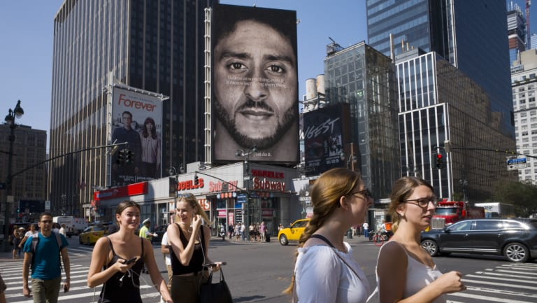 Polls revealed that young people are big backers of Nike's decision to use Colin Kaepernick in an ad campaign.