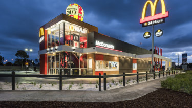 McDonald's new Point Cook store.