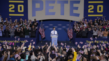Pete Buttigieg, 37, is serving his second term as the mayor of South Bend, Indiana.