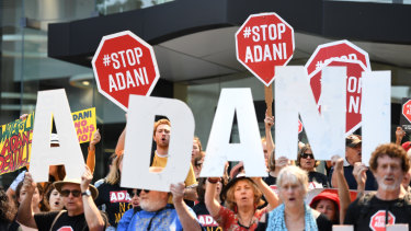 The Adani Carmichael mine proposal has attracted strong community opposition.