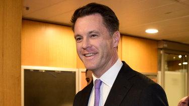 Kogarah MP Chris Minns put up a tough fight.