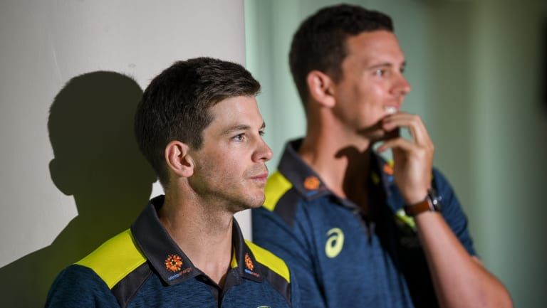 Next wave: Tim Paine prepares to announce the new players' pact on Monday.