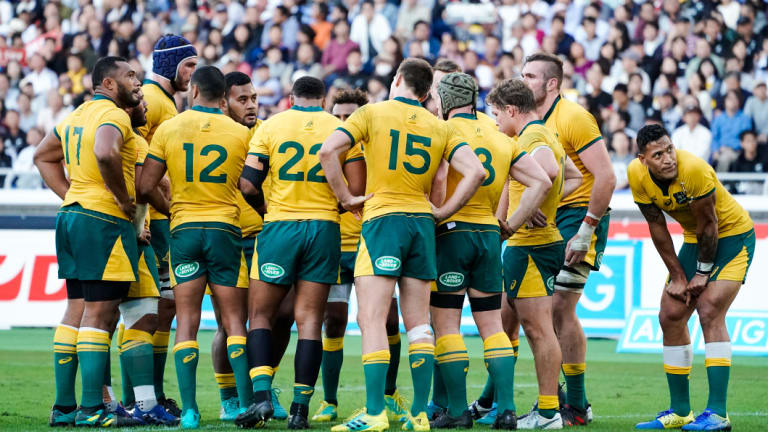 Listing badly: It's been an agonising year for the Wallabies – and even worse for their fans.