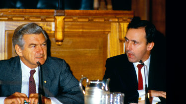 Bob Hawke and Paul Keating transformed the Australian economy.