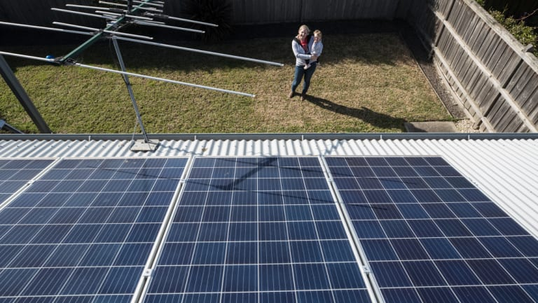 The marginal seat with Victoria's highest take-up of rooftop solar on