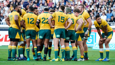 Listing badly: 2018 was an agonising year for the Wallabies – and even worse for their fans.
