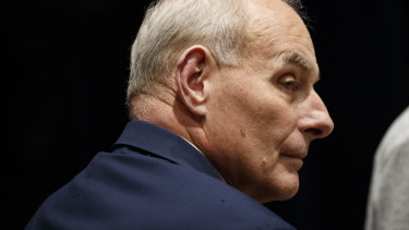 "Recently departed White House chief of staff, John Kelly, told Sims it was ""the worst [expletive] job I've ever had""."
