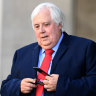 Clive Palmer shows up at Queensland Nickel trial