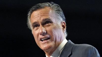 Bid to censure Romney for Trump impeachment votes narrowly fails