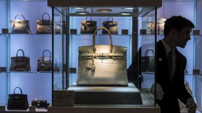 Hermes handbags, cars and fine wine got the ultra-rich through COVID-19