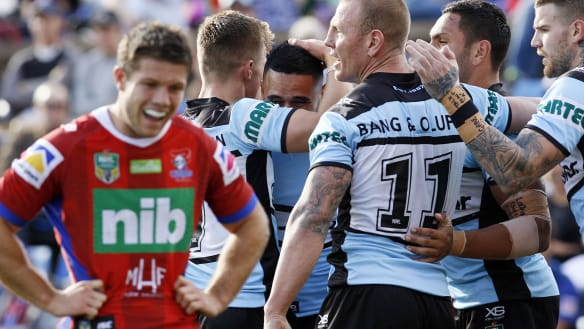 Sharks streamroll Knights to break into NRL top four