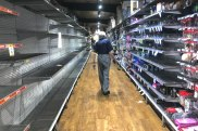 Six months after panic buying cleared supermarket shelves, retailers are running short of stock after underestimating demand.