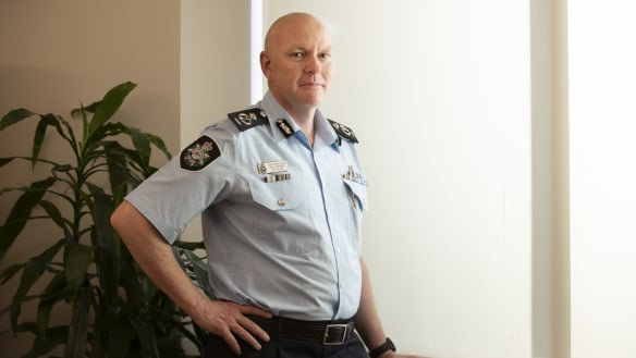 Canberra's new police chief is in it for the long haul
