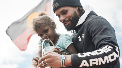Australian NBA star Patty Mills launches own foundation