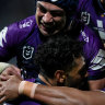 'We got a lesson': Storm join Eels in top spot after Titans trouncing