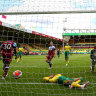 Norwich relegated, Liverpool drop home points for first time