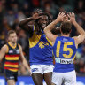The Eagles soar back into form with commanding win over Crows