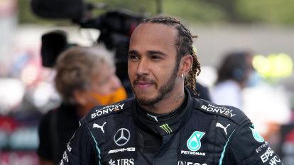 Gamble pays off for Mercedes as Hamilton hunts down Verstappen