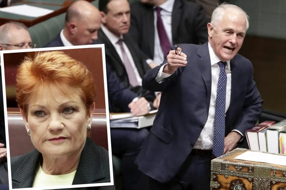 Government made Hanson an offer on tax. She said no