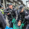 'Battle hardened': Police ready for future climate protests