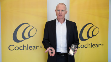 Cochlear CEO Dig Howitt said operations were being postponed in Chinese hospitals, denting its profits.
