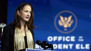 President-elect Joe Biden's Director of National Intelligence nominee Avril Haines speaks.
