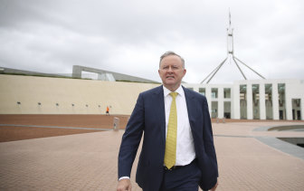 Anthony Albanese should come up with positive plans on how to lead Australia out of the pandemic and challenge the government to implement them.