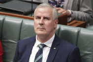 Michael McCormack took over as Nationals leader from Barnaby Joyce.