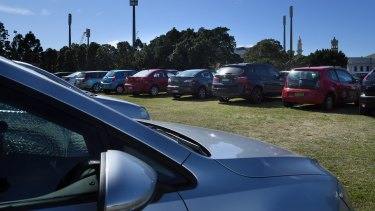 Greater Sydney Parklands invited the cars back to Moore Park.