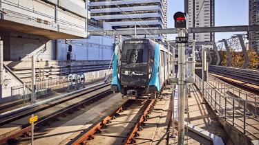 The new Sydney Metro service.