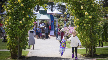 The show, at the Victoria State Rose Garden, will feature displays, plant-care demonstrations and tours.