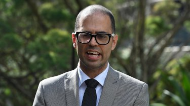 Labor treasury spokesman Daniel Mookhey.