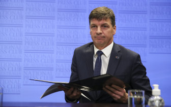 Angus Taylor launches the technology roadmap on Tuesday.