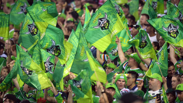 Canberra fans will have few opportunities to see their team on free-to-air TV.