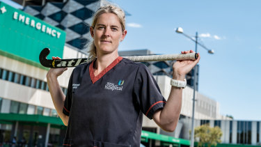 Current world goalkeeper of the year Rachael Lynch is one of two players appealing their Hockeyroos axing.