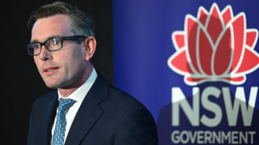 NSW Treasurer Dominic Perrottet will announce an update of the state budget on Thursday.