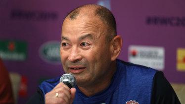 England coach Eddie Jones could make a dash back tp Sydney for the funeral of Randwick rugby legend Jeffrey Sale.